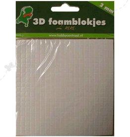Hobbycentraal cubes de mousse de 2 mm