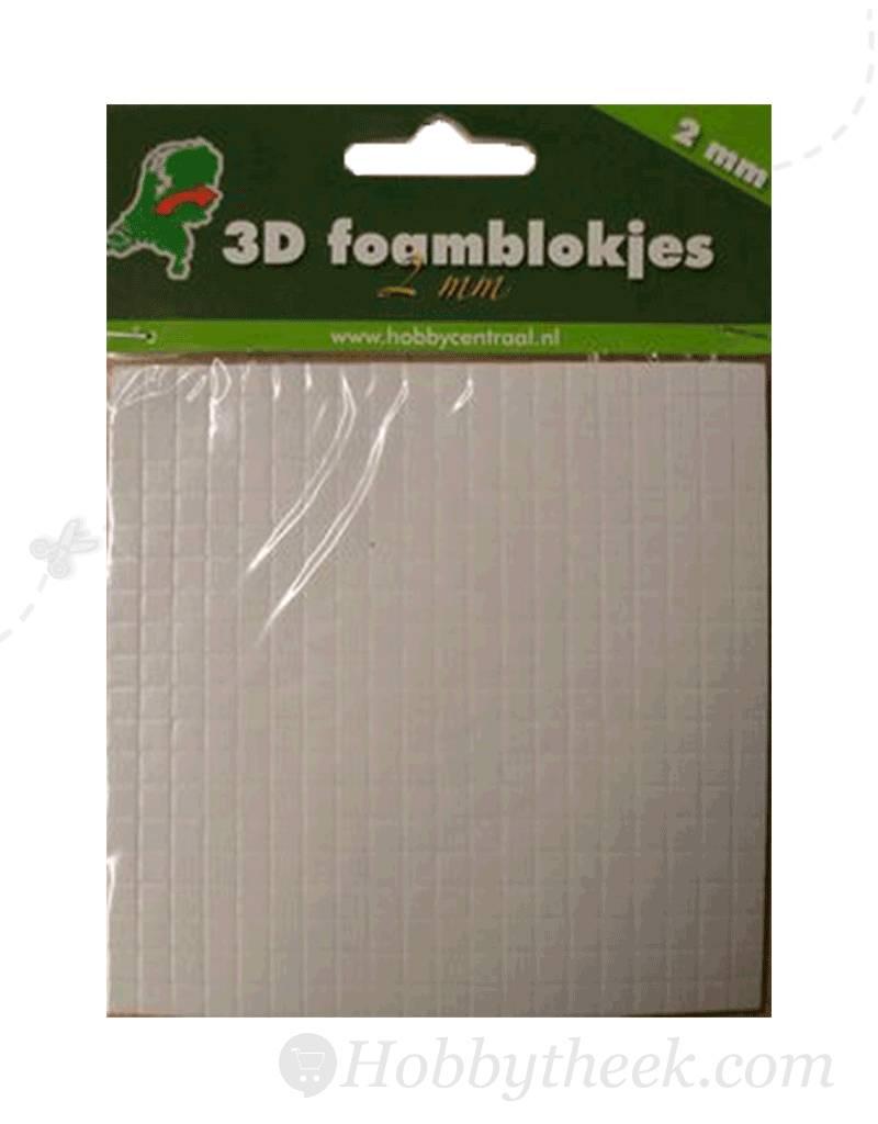 Hobbycentraal 2mm foam cubes