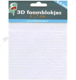 Hobbycentraal Foam pads 0.5mm