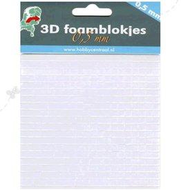 Hobbycentraal foamblokjes 0,5 mm