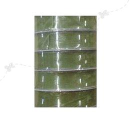 Romak Organza Lint 15 mm Olijf groen