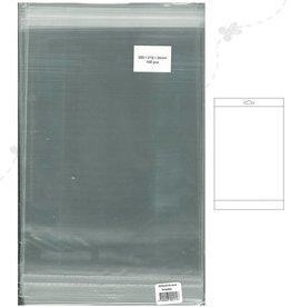 Hobbycentraal A4 zakjes met plakstrip en Header