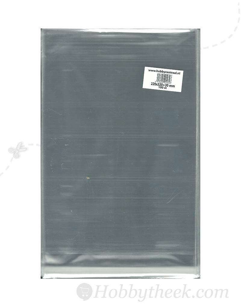 Hobbycentraal A4 poser med selvklæbende strimmel 100st 220x320x40