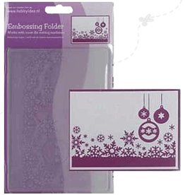 Central Craft Collection Embossing Folder 10,5x15cm Kerst