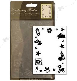 Central Craft Collection 10,5x15cm Gauffrage