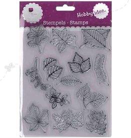 Hobby Idee Stamp Feuilles 14 x 18 cm