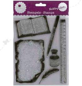 Hobby Idee Writing Stamp 15.5 x 20 cm
