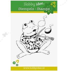 Hobby Idee stempel Frog