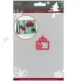 Hobby Idee Snij Mal label kerstboom