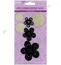 Hobby Idee Cut Flowers Mal 3 masker ophold i papir