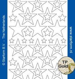 Starform Étoile Glitter Stickers