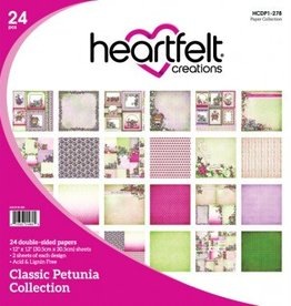 Heartfelt Classic Petunia Paper Collection