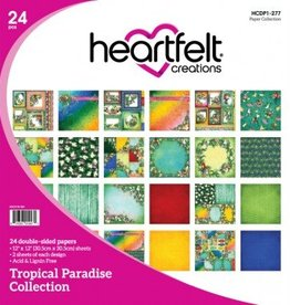 Heartfelt Tropical Paradise Paper Collection