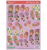 Romak 3D ark Romak Megumi Flowers