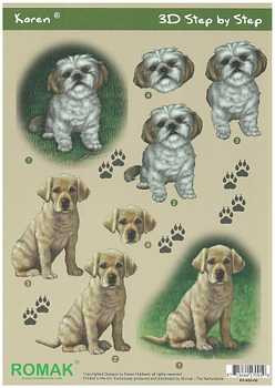 Romak 3D sheet Romak Karen Dogs