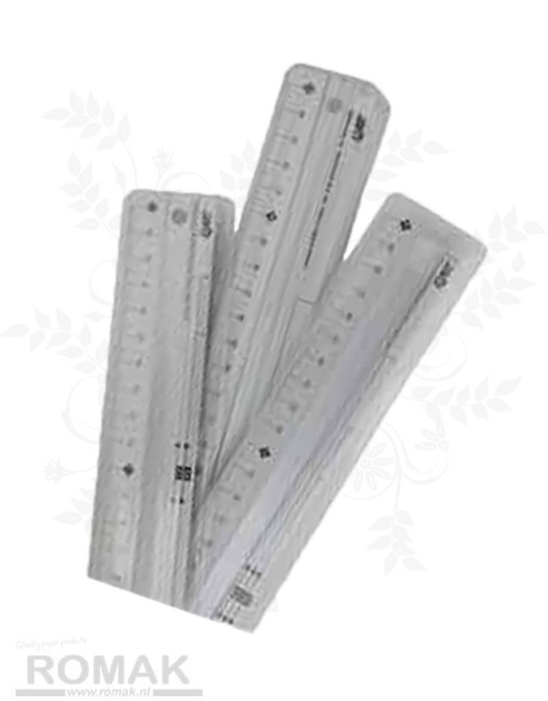 Ruler aluminum 45 cm