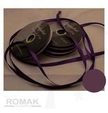 Central Craft Collection 3mm Satinbånd Deep Purple