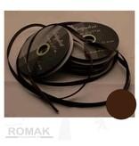 Central Craft Collection 3mm satinbånd Dark Brown