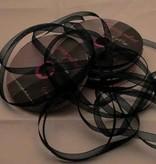 Central Craft Collection 3mm Ribbon Organza Mørkegrøn