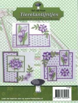 Tierelantijntje Tierelantijntjes Map Pack 3 cards