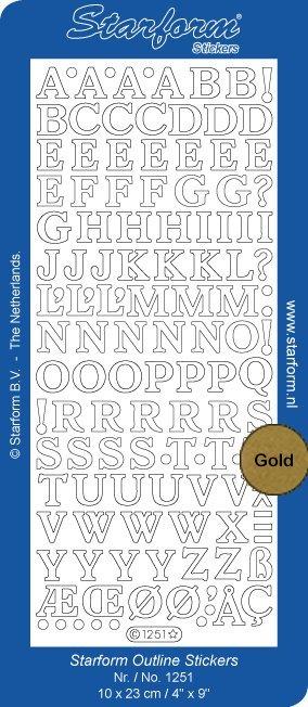 Starform Alphabet Medium