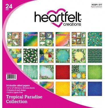 Heartfelt Tropical Paradise Paper Collection