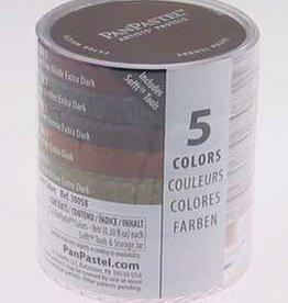 Pan Pastel PanPastel Set 5 Earth Colours
