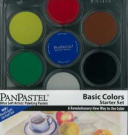 Pan Pastel Pan Pastel set 7  Basic Colors