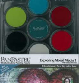 Pan Pastel Pan Pastel set 7  Exploring Mixed media 1