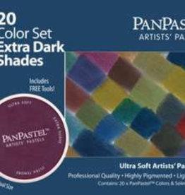 Pan Pastel PanPastel set 20 extra darks
