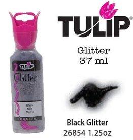 Tulip Tulip verf Glitter Black (37 ml)