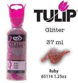 Tulip Tulip verf Glitter Ruby (37 ml)