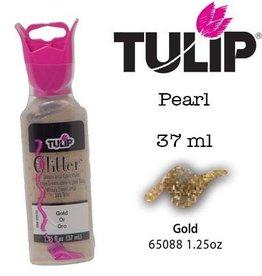 Tulip Tulip verf Glitter Gold (37 ml)