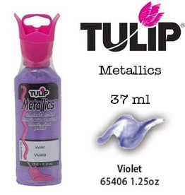 Tulip Tulip verf Metallics Violet (37 ml)
