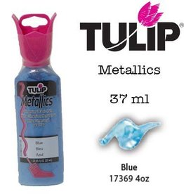 Tulip Tulip verf Metallics Blue (37 ml)