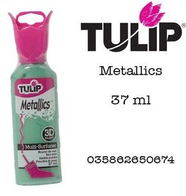 Tulip Tulip verf Metallics 3D Sea mist (37 ml)