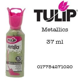 Tulip Tulip verf Metallics 3D Lime Green (37 ml)