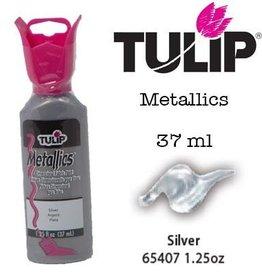 Tulip Tulip verf Metallics Silver (37 ml)