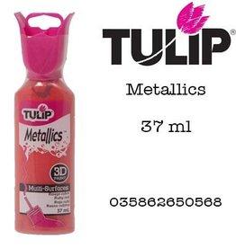Tulip Tulip verf Metallics 3D Ruby Red (37 ml)