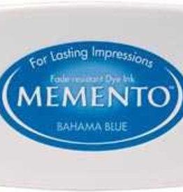 Tsukineko Inkpad Large Memento Bahama blue