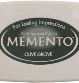 Tsukineko Inkpad Large Memento Olive grove