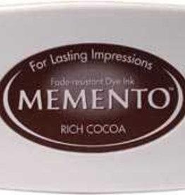 Tsukineko Inkpad Large Memento Rich cocoa
