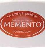 Tsukineko Inkpad Large Memento Potters clay