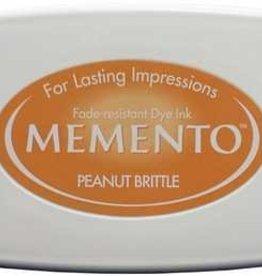 Tsukineko Inkpad Large Memento peanut brittle