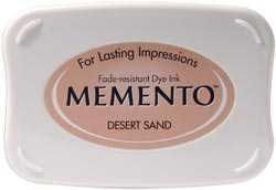 Tsukineko Inkpad Large Memento Desert sand