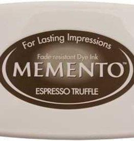 Tsukineko Inkpad Large Memento Expresso Truffle