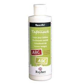 Rayher Schoolbordvernis transparant, zijdenmat, flacon 236 ml.