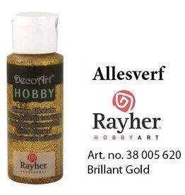 Rayher Glimmer Allesverf Brijlant goud