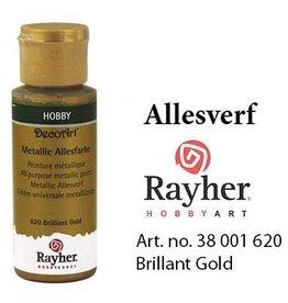 Rayher Metlallic Allesverf Briljant goud