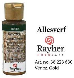 Rayher Metallic Patina Venezie goud